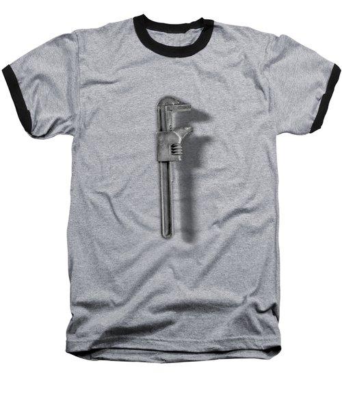 Adjustable Wrench Backside In Bw Baseball T-Shirt