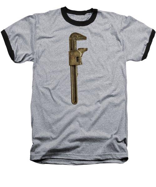 Adjustable Wrench Backside Baseball T-Shirt by Yo Pedro