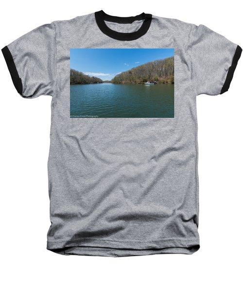 Baseball T-Shirt featuring the photograph Weeks Creek At Admiral Heights by Charles Kraus