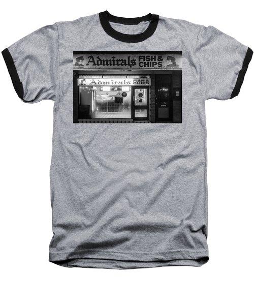 Admirals Fish And Chips Baseball T-Shirt