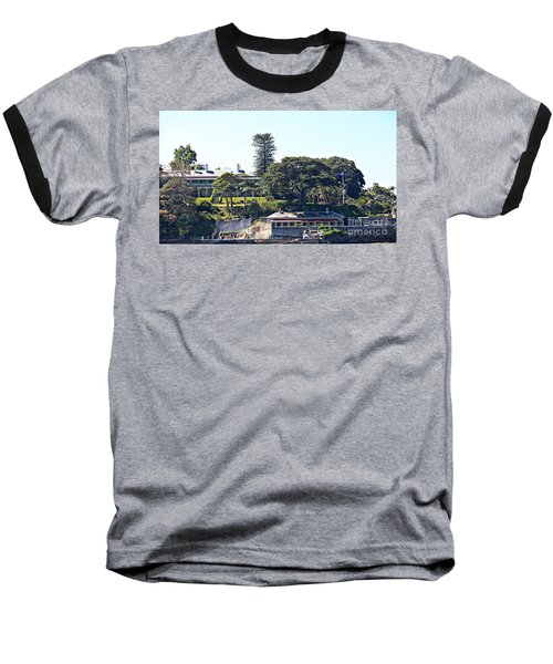 Baseball T-Shirt featuring the photograph Admiralty House by Stephen Mitchell