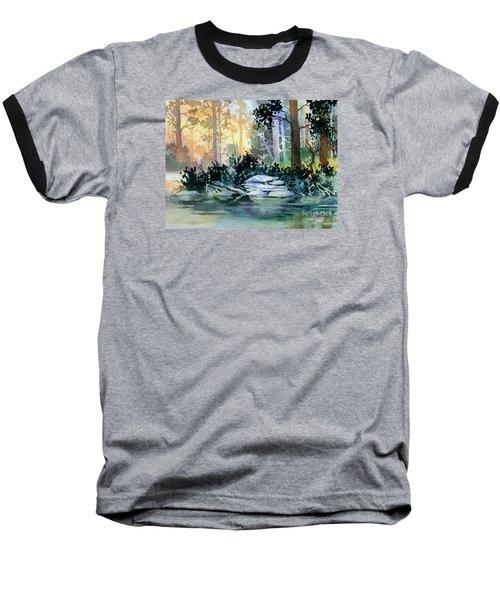 Admiralty Island Baseball T-Shirt by Teresa Ascone