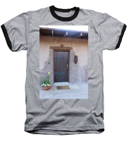 Adobe Door Baseball T-Shirt
