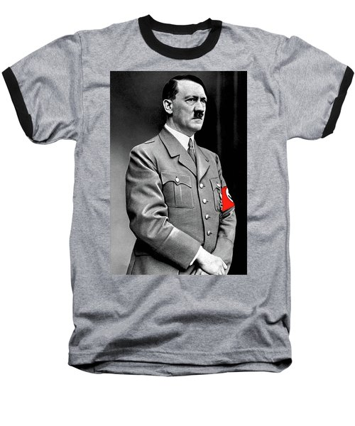 Adolf Hitler The Visionary Circa 1941 Color Added 2016 Baseball T-Shirt