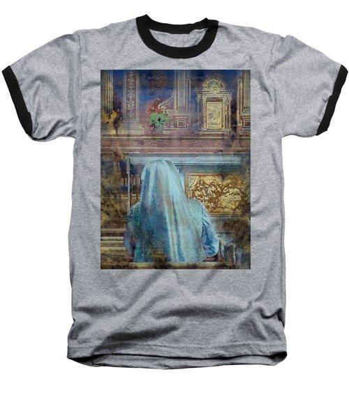 Adoration Chapel 3 Baseball T-Shirt