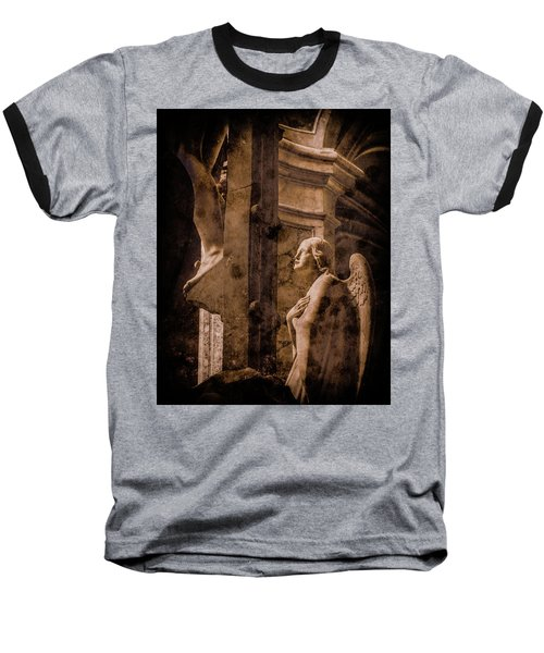 Paris, France - Adoring Angel Baseball T-Shirt
