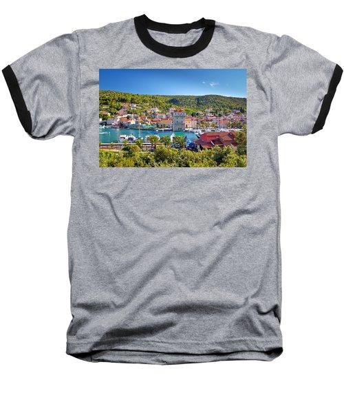 Adriatic Village Of Marina Near Trogir Baseball T-Shirt