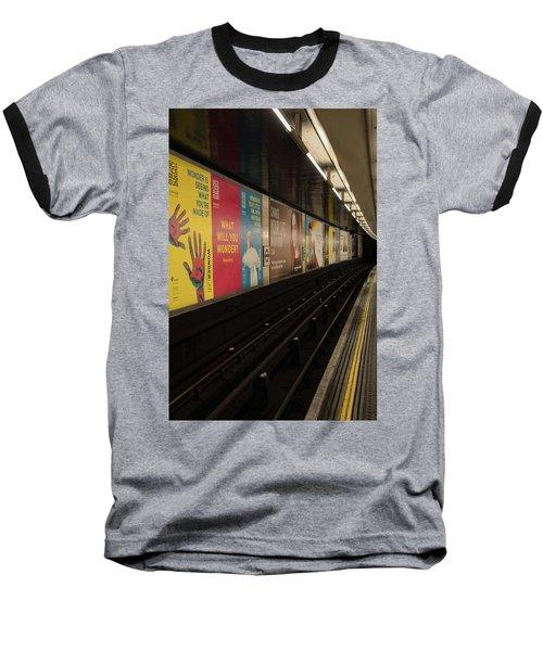 Ads Underground Baseball T-Shirt