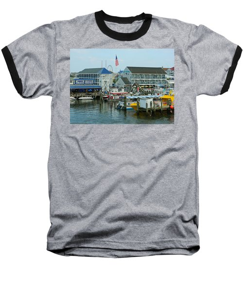 Adult Fun - Ocean City Md Baseball T-Shirt by Emmy Marie Vickers