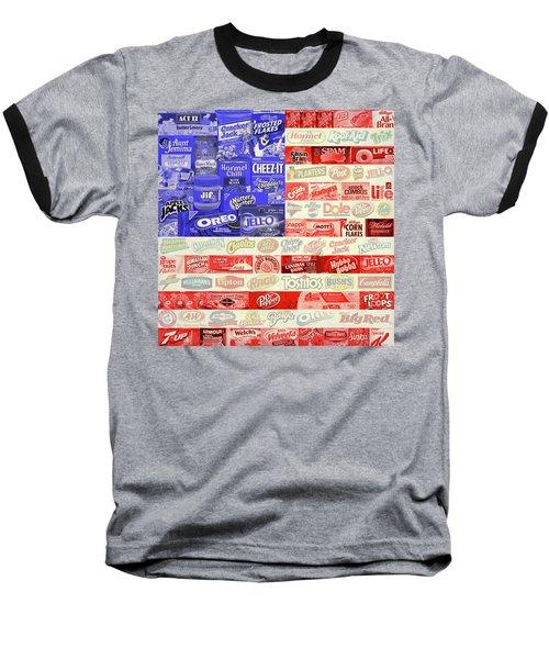 Advertising Flag Baseball T-Shirt