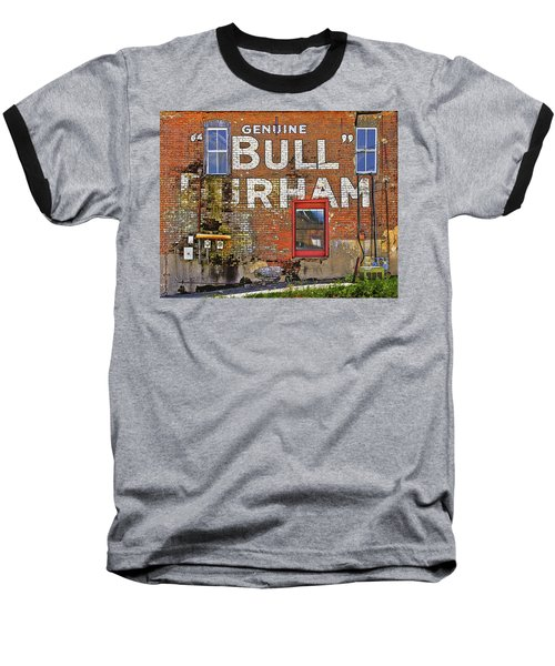 Advertising Of The Past Baseball T-Shirt by David and Carol Kelly