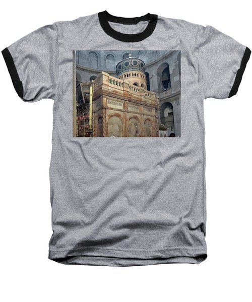 Aedicule Of The Holy Sepulchre Baseball T-Shirt