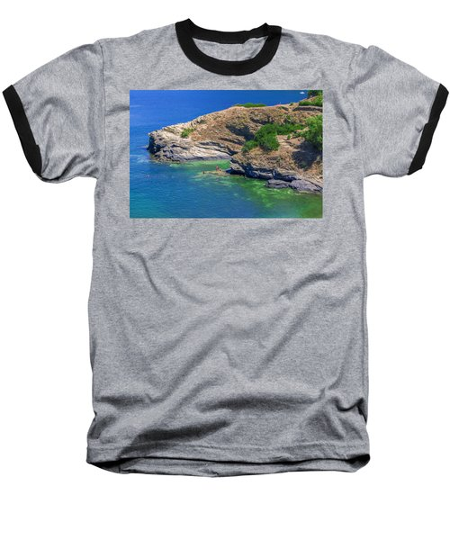 Aegean Coast In Bali Baseball T-Shirt