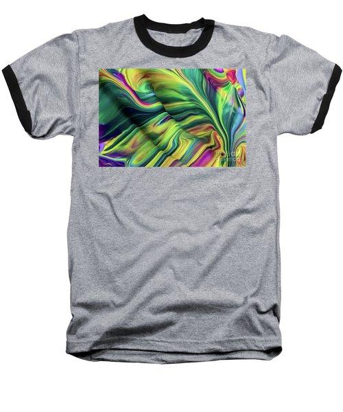 Aegean Wave Baseball T-Shirt