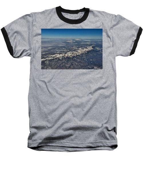 Baseball T-Shirt featuring the photograph Aerial 3 by Steven Richman