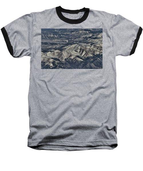 Aerial 4 Baseball T-Shirt by Steven Richman