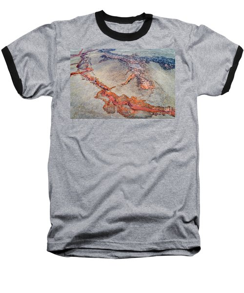 aerial landscape abstract of Colorado foothills Baseball T-Shirt