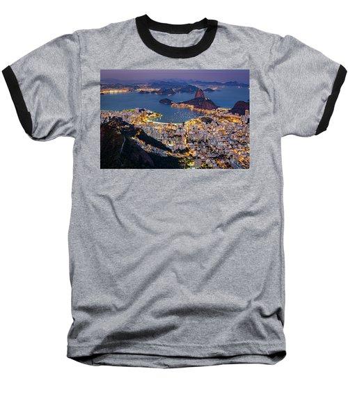 Aerial Rio Baseball T-Shirt