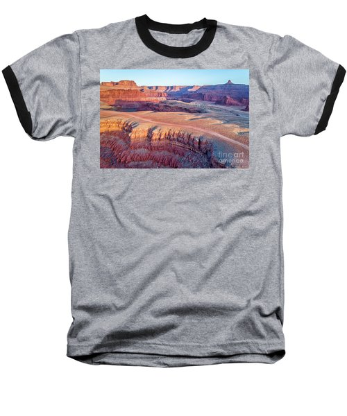 aerial view of Colorado RIver canyon Baseball T-Shirt