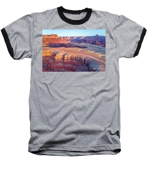aerial view of Colorado RIver canyon Baseball T-Shirt