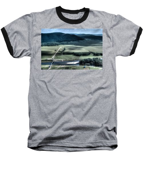 Aerial View Of Rolling Russian Hills Baseball T-Shirt