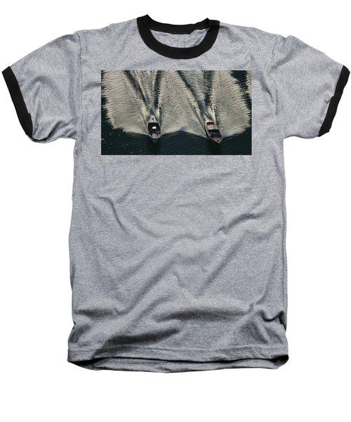 Aerial Wash Baseball T-Shirt