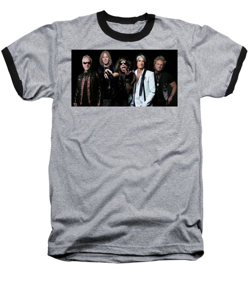 Aerosmith Baseball T-Shirt