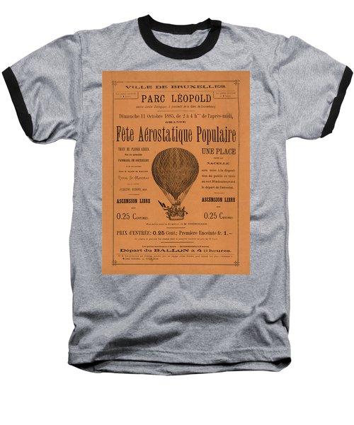 Aerostatique Populaire Baseball T-Shirt