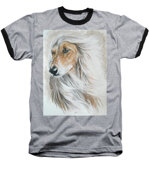 Afghan Hound Baseball T-Shirt