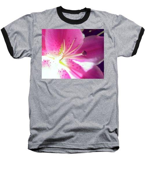 Aflame Baseball T-Shirt