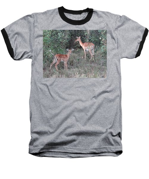 Africa - Animals In The Wild 2 Baseball T-Shirt by Exploramum Exploramum