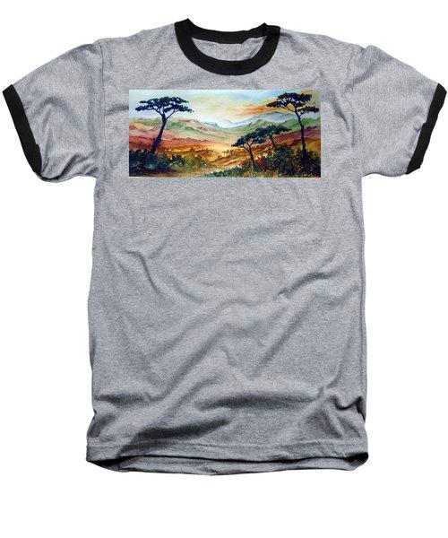 Africa Baseball T-Shirt