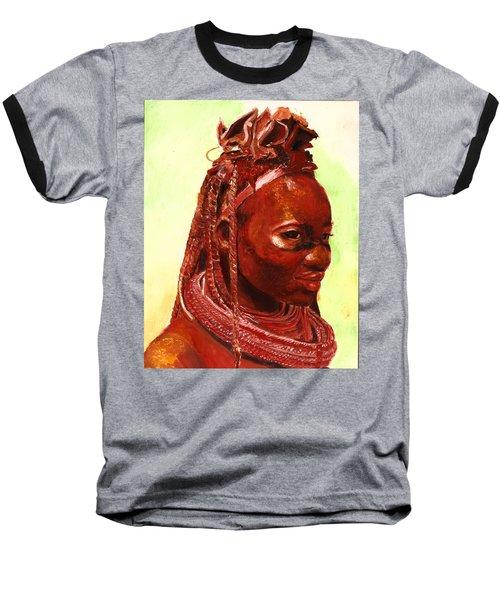 African Beauty Baseball T-Shirt