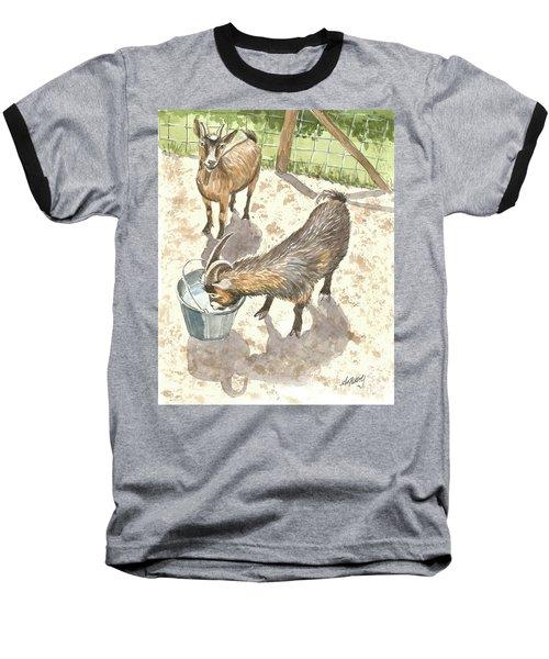 African Goats Baseball T-Shirt