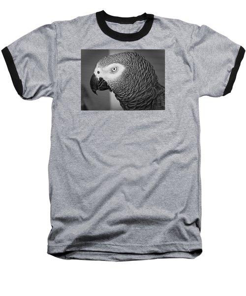 African Grey Parrot Baseball T-Shirt