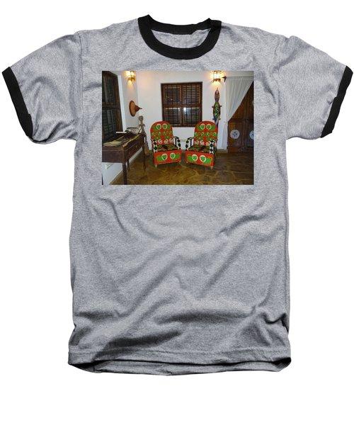 African Interior Design 5 Beaded Chairs Baseball T-Shirt