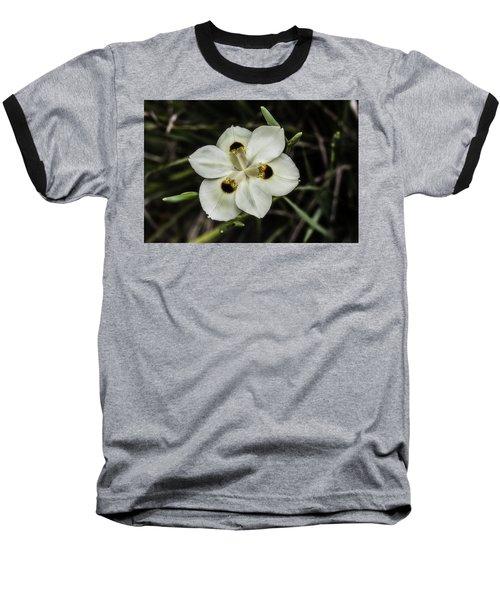 African Iris Baseball T-Shirt