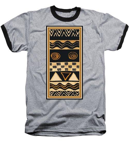 African Memories Baseball T-Shirt by Vagabond Folk Art - Virginia Vivier