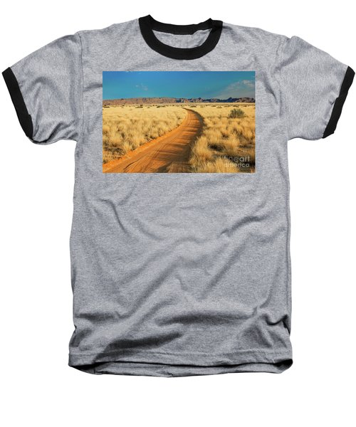 African Sand Road Baseball T-Shirt