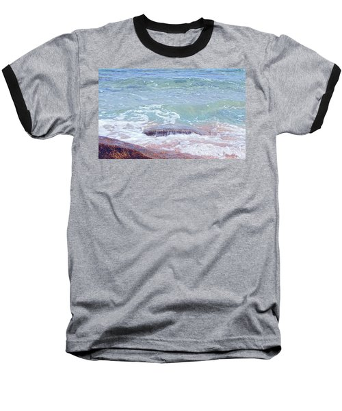 African Seashore Baseball T-Shirt
