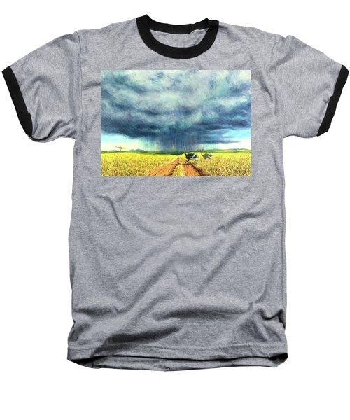 African Storm Baseball T-Shirt by Tilly Willis