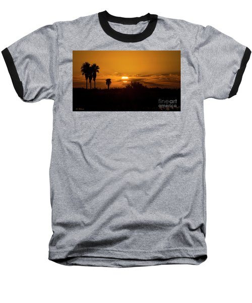 African Style Sunset Baseball T-Shirt