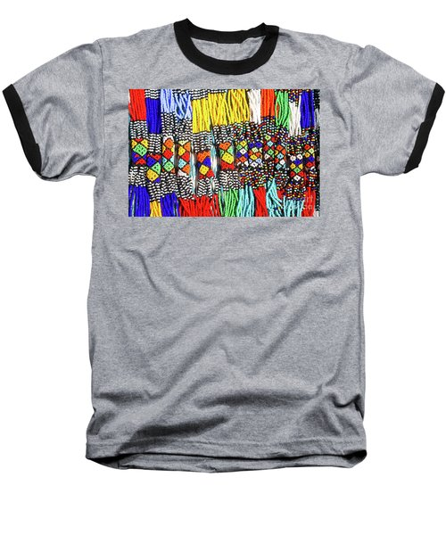 African Tribal Necklaces Baseball T-Shirt
