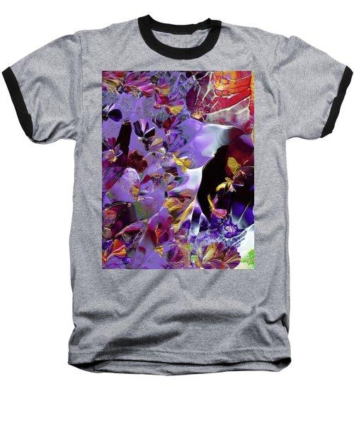 African Violet Awake #2 Baseball T-Shirt