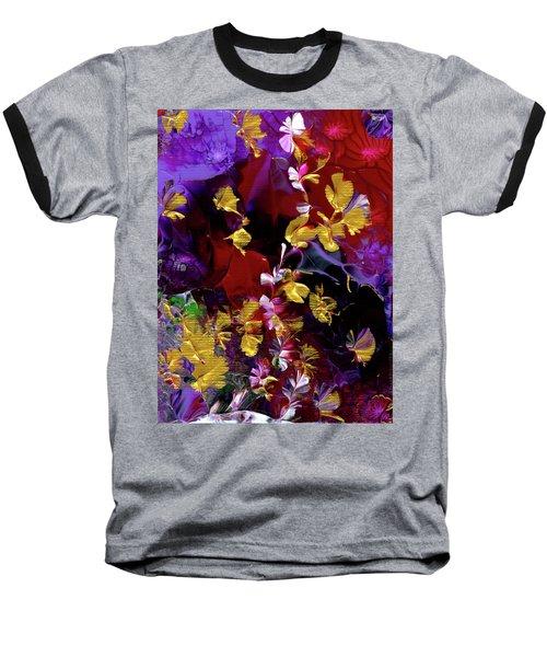 African Violet Awake #3 Baseball T-Shirt