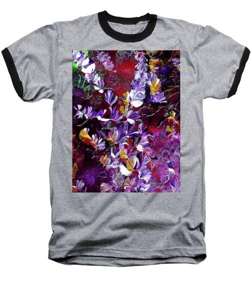 African Violet Awake #4 Baseball T-Shirt