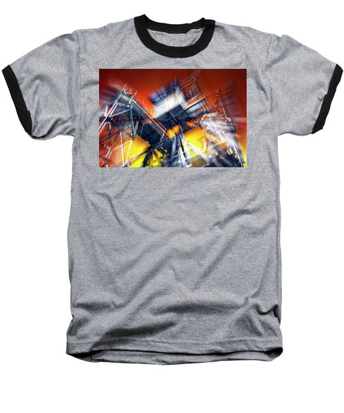 Baseball T-Shirt featuring the photograph After Effect by Wayne Sherriff