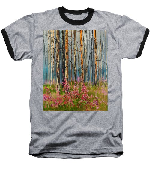 After Forest Fire Baseball T-Shirt