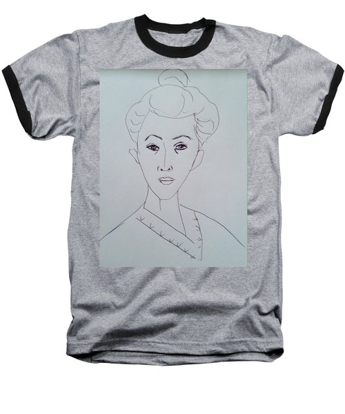 After Matisse  Baseball T-Shirt by Hae Kim
