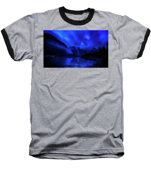 Baseball T-Shirt featuring the photograph After Midnight by John Poon
